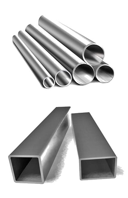Metalli müük, Profiiltorud, Tõmmatud torud, Vee- ja gaasitorud, Tsingitud torusid, Roostekindlatel tsingitud torudel